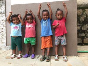 les enfants soutenus par Aina Vao